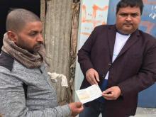 नगर प्रमुख श्रीनितेन्द्र प्रसादसाह ज्युद्वारा पिडितको घरमा गएर हस्तनानतरण गरी आर्थिक सहयोगको रुपमा मदत गर्नु भएको हो।